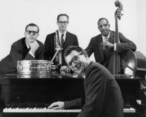 Dave Brubeck with his classic quartet (Joe Morello, Paul Desmond and Eugene Wright).