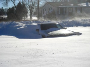 To think -- two days before, I was driving to WPKN in this Camry.