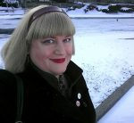 Just before walking into the Register building for my first day of work, 1/23/14.