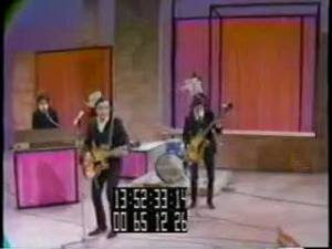 A video still of The Remains on The Ed Sullivan Show.