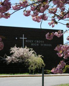 A years-ago shot of my old high school.