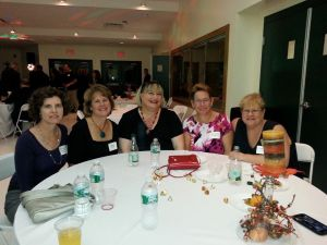 Girls' table. With Ann Marie, Salli, Barb and Trish.